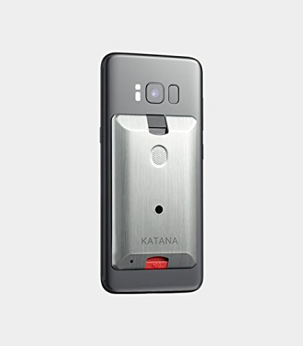 Katana Safety Arc: The Personal Security System That Attaches Directly to Your Smartphone. Includes 1 Free Month of the 24/7 Katana Response Center Service. (Silver)