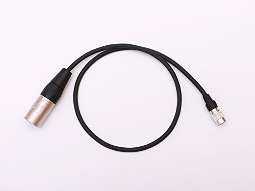 Male 4pin XLR to Female 4-pin Hirose Power Cable for SmallHD DP7-Pro,AC7-OLED