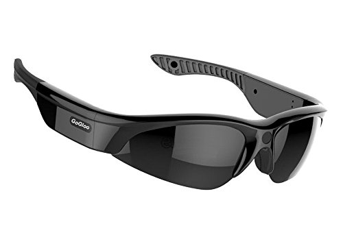 Gogloo H.264 MP4 1080P HD Sport Polarized Sunglasses with Video Camera DV, Smart Camera Sunglasses (Black, 1080P@30fps, - Kong Hong Sunglasses