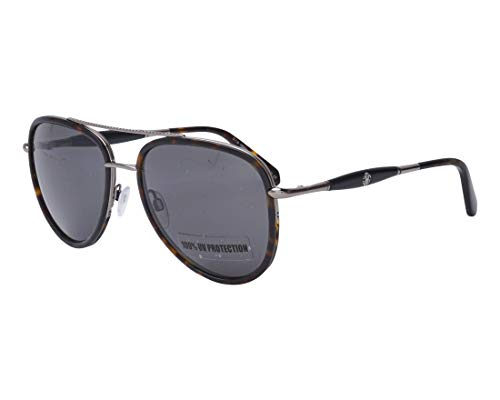 Roberto Cavalli RC1022 RC/1022 52A Dark Havana/Silver Pilot Sunglasses 58mm (Roberto Cavalli Lens Silver)