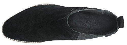 Santimon Chelsea Boots Uomo Camoscio Casual Dress Stivali Stivaletti Scarpe Formali Nero Marrone Grigio Nero