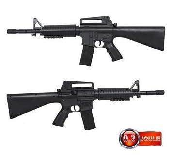 M16 Plastico Juegos esJuguetes Y 6mmAmazon Rifle Muelle DbeEYW29IH
