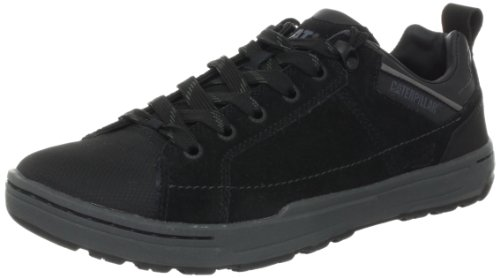 Cats Skate Shoes - Caterpillar Men's Brode Skate Shoe,Black Suede,14 M US