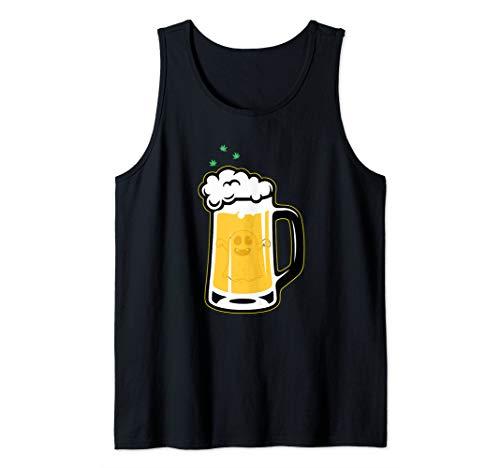 Halloween Drinking Squad Ghost Beer Mug - Halloween Souvenir Tank Top -