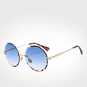 Gflousas - Gafas de Sol Redondas para Mujer y Hombre (UV400 ...