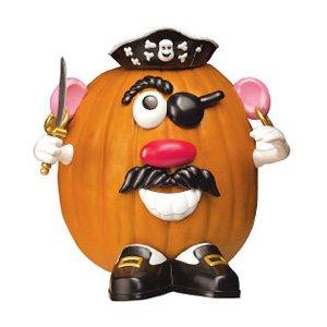 Assorted Halloween Mr Potato Head Pumpkin Kit Choose: Witch, Vampire, Princess or Pirate