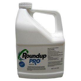 Round Up Pro Concentrate 50.2% Glyphosate 5 Gallons 2 x 2.5/gal jug Systemic Herbicide (Best Thing To Kill Weeds In Flower Beds)