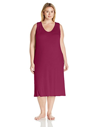 Arabella Women's Plus Size Racerback Nightgown