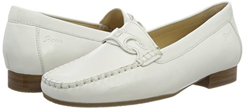 weiss Sioux Women's 151 001 White Moccasins Colina xrrUqXTO