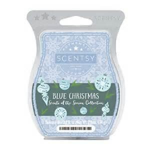 - SCENTSY blue christmas wax tart for warmer 3.2 oz bar