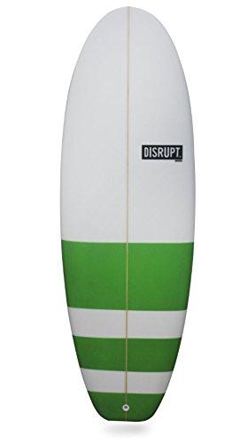 La stubster Tabla de surf, (Verde y Rojo), 5 4 –