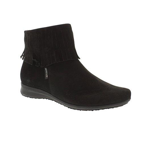 Mephisto Faustina - Black Bucksoft (Leather) Womens Boots