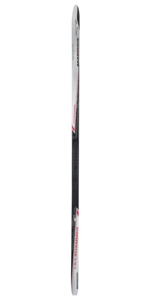 Madshus Lillehammer Ski, 210cm, White/Black/Red by Madshus