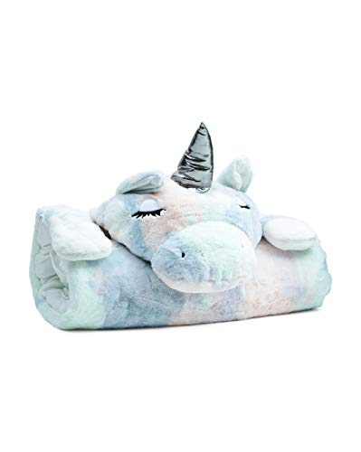 Frolics Plush Sleeping Bag Assorted Animals (Lavender Unicorn)