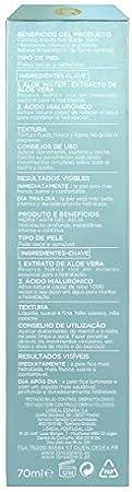 L'Oreal Paris Dermo Expertise Hydragenius Aloe Water - Cuidado Líquido Hidratante para Pieles Secas y Sensibles - 70 ml