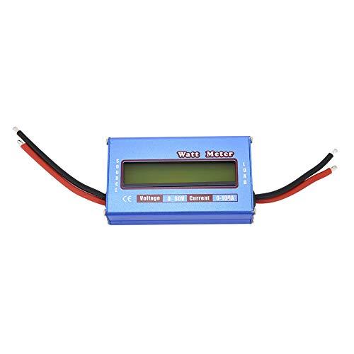 RC Watt Meter-1pc Digital Wattmeter Power Meter Checker DC 60V 100A Balance Voltage Battery ()
