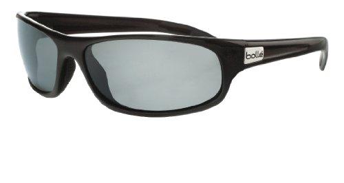 Bolle Sport Anaconda Sunglasses (Shiny Black/Polarized TNS)