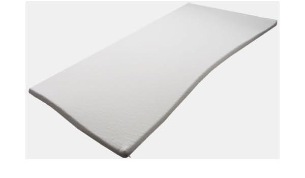 Dureza 2, colchón con cubierta viscoelástica de memoria, poliuretano, 70x200cm: Amazon.es: Hogar