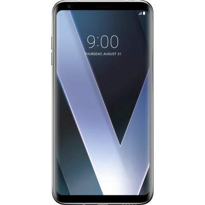 LG V30+ H930DS 128GB/4GB Dual Sim Factory Unlocked GSM Smartphone - International Version - No Warranty in the US (Silver) (Lg Electronics Mobilecomm Usa)