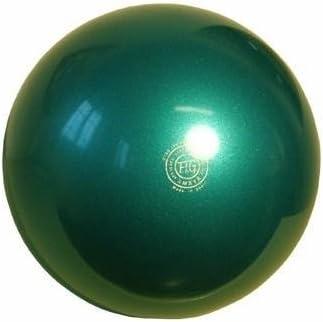 Amaya - Pelota para gimnasia, de plástico, 420 gr, color verde ...