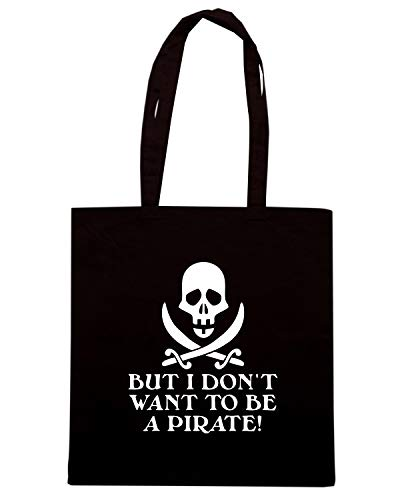OLDENG00638 Speed SEINFELD PIRATE Nera Shirt Borsa QUOTE Shopper wqxPIrq4A