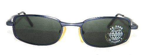 New+Case 280$ Vuarnet 705 Blue Sunglasses Px3000 Grey Antireflective Glass Lens