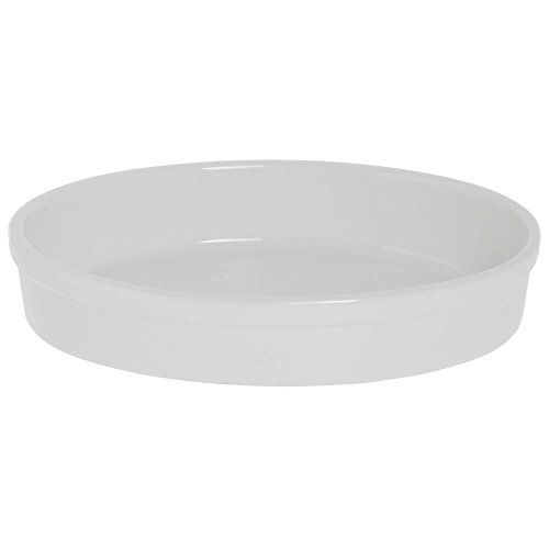 - BIA Cordon Bleu 1 1/2 qt Oval White Ceramic Baker - 10 3/4