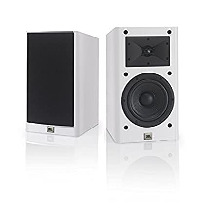 JBL Arena 130 White 2 Way 7 Inch Bookshelf Loudspeakers