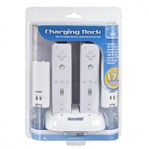 Price comparison product image dreamGEAR - Wii Dual Charging Dock & Rechargeable Battery Packs (Wii)