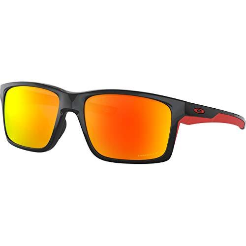 Oakley Men's Mainlink XL Sunglasses,OS,Polished Black/Prizm Ruby ()