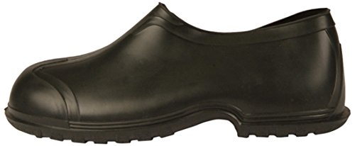 "UltraSource 440095-M PVC Overshoes, 4"", Black, Size Medium (8-9) - Image 1"