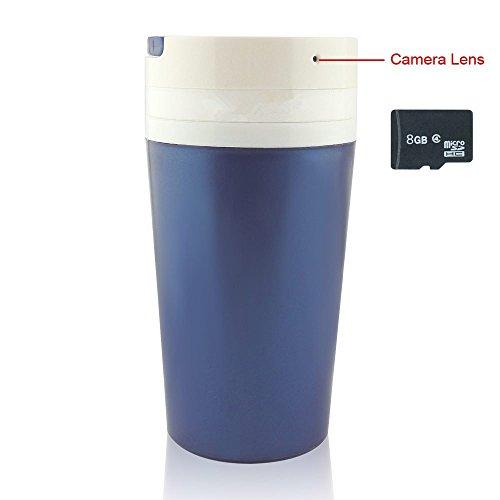 8 GB Portable Water Cup Hidden Spy Camera 1280×960P Video Keep Motion Activities Detector Indoor & Outdoor Security CAM