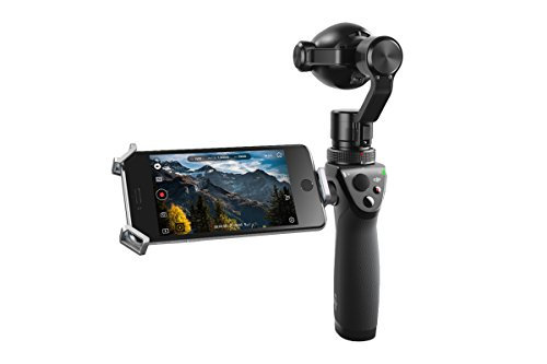 DJI 4K, UHD 3.5x Optical Zoom, 2x Digital Zoom Handheld 4K Camera Osmo+ Black