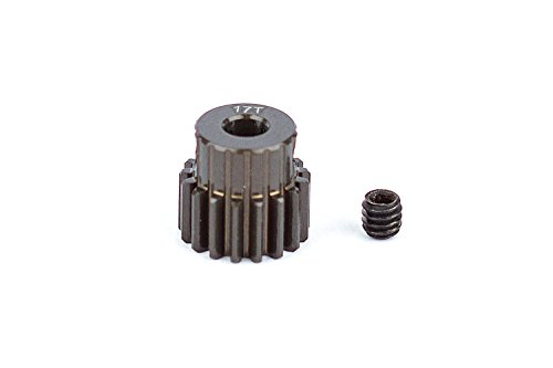 Team Associated 1335 Factory Aluminum 17T 48P 1/8 Shaft Pinion Gear (17t Pinion)