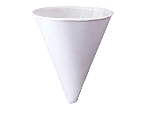 Konie Cups - 10.0KRF Recyclable Paper Cone Funnel, 10 oz Disposable {Tazas de cono de embudo} (2 Pack (250ct))