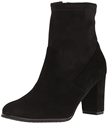 Blondo Women's Kelly Ankle Boot, Black Suede, 10 M US