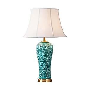 WANGOFUN Lámpara de Tabla de cerámica, Creativo, Fashional y ...