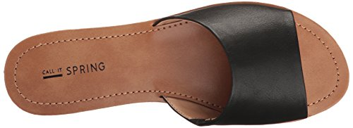Sandal Slide It Call Women's Spring Black Synthetic Thirenia 4xFX7q