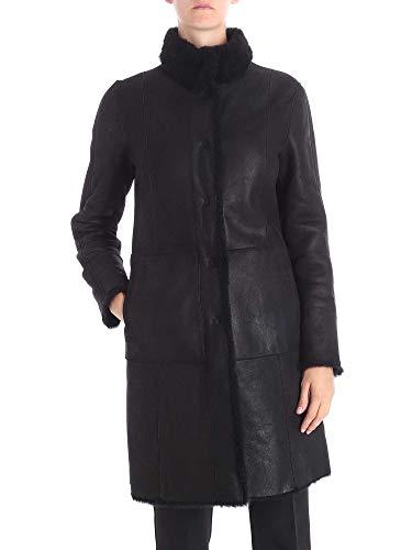 Femme Drome Dpd5516pd1343800 Manteau Noir Cuir SdqgdBFA