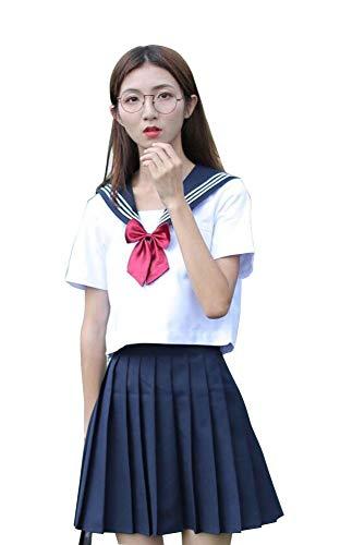 Agaruu - Disfraz de Uniforme de Escuela Japonesa para Cosplay de ...