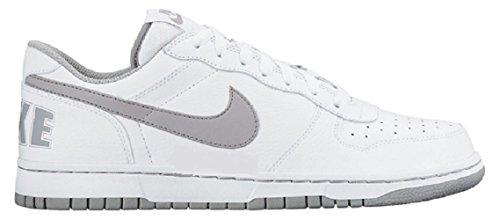 Nike Men's Big Low Basketball Shoes, Blanco (White/Wolf Grey), 11.5