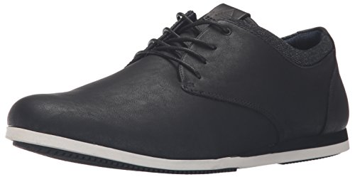 Aldo Men's Aauwen Fashion Sneaker, Black Leather, 10 D US