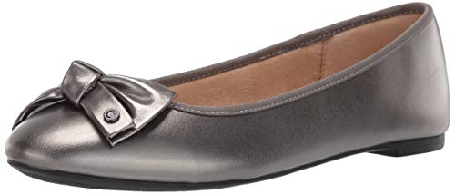 (Circus by Sam Edelman Women's Connie Ballet Flat, Sterling, 10 M US )