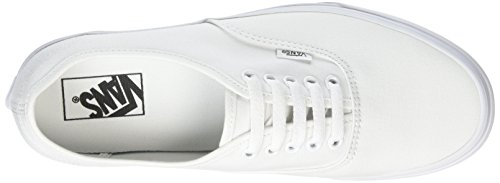 White True – Adulto Sneaker Authentic Vans Bianco W00 Unisex awCf7qp