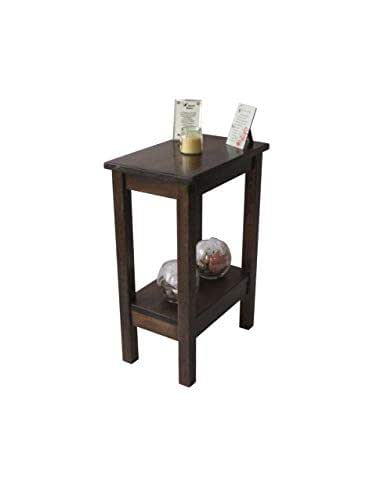 Rustic Wood Bedside Table: Amazon.com: End Table/Nightstand/Side Table/Bedside Table