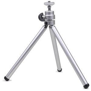 lightweight-portable-mini-tripod-with-bald-head-retractable-legs-for-sk-uo-smart-beam-projector