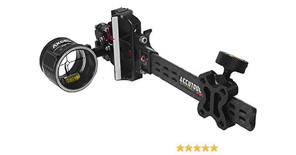 Black Axcel Accuhunter Plus Sight 1 Pin .019 Archery Equipment