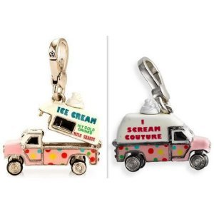 Juicy Couture Charm Ice Cream Truck Silver Charm that Opens *Super Cute* YJRU4919 ()