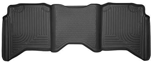 Husky Liners 19061 Black Second Seat Fits 09-18 (10-18 2500/3500), 19 Ram 1500 Classic, Crew Cab