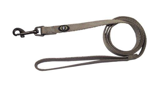 Hamilton Gun Metal Series Nylon Dog Lead with Swivel Snap, 5/8-Inch by 4-Feet, Moonstone